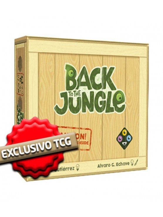 Back To The Jungle – Juego De Mesa (SOBRE PEDIDO)
