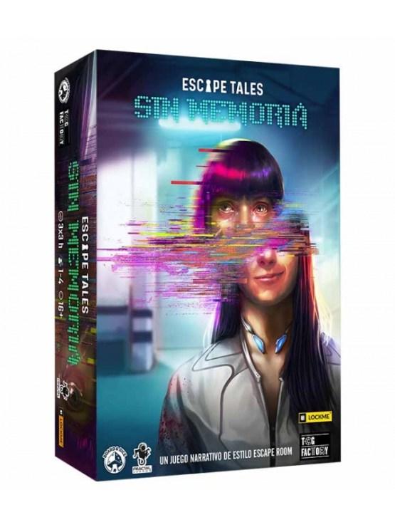 Escape Tales: Sin memoria  – Juego De Mesa (SOBRE PEDIDO)