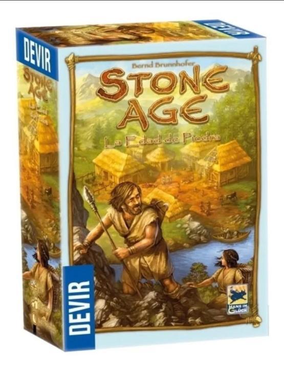 juego de mesa:Stone Age La edad de piedra