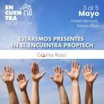 Encuentra PROPTECH - 3 al 5 de mayo 2019
