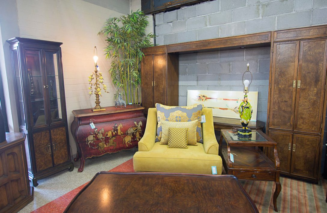 Cozy corner furnishings, featuring an Asian-inspired theme design.