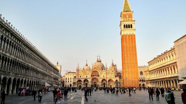 St Marks Square in Venice