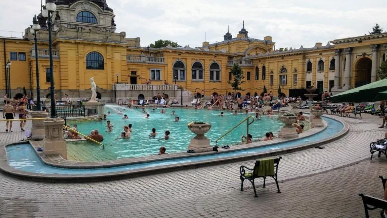 Szechenyi Spa in Budapest