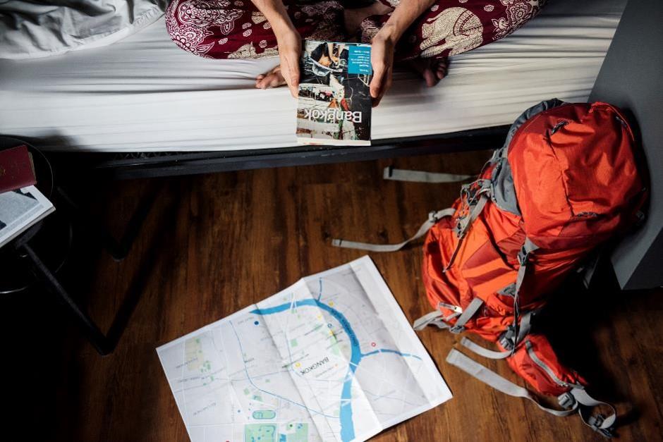 hostel backpack