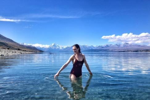 Olivia round town - NZ 3