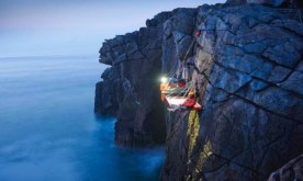 cliff camping 4