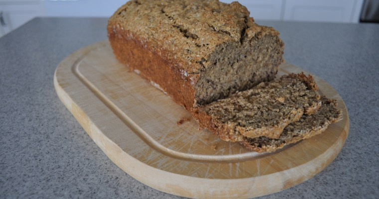 Maple-Oat Banana Bread