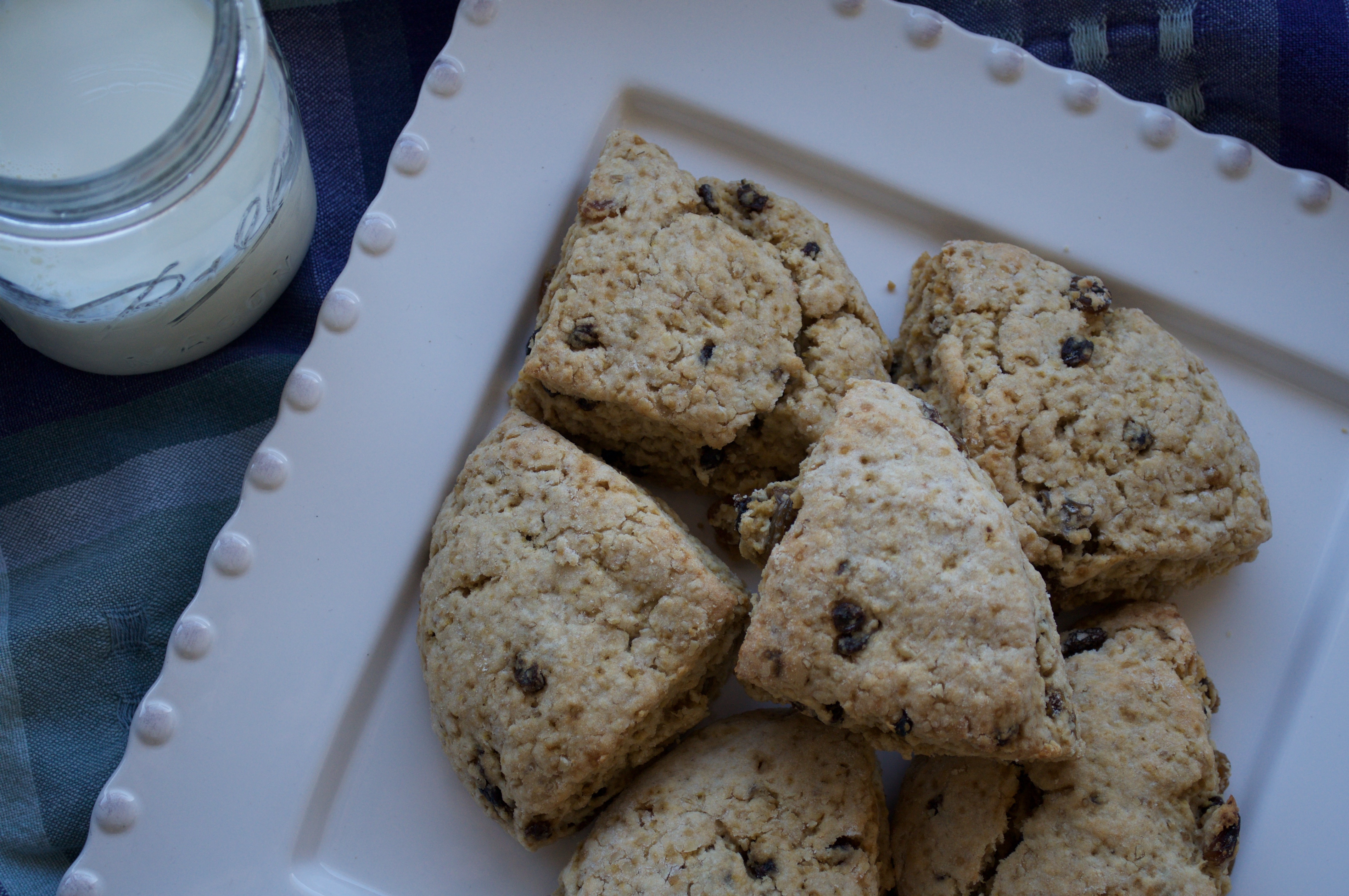 Scottish Oat Scones and a Pause