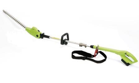 cordless telescopic hedge trimmer