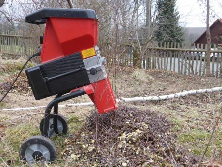 FOX Speedy Garden Shredder 40mm Cutting Width Electric 2500w 4050 RPM Blade