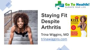Trina Wiggins Staying Fit Despite Arthritis 051221