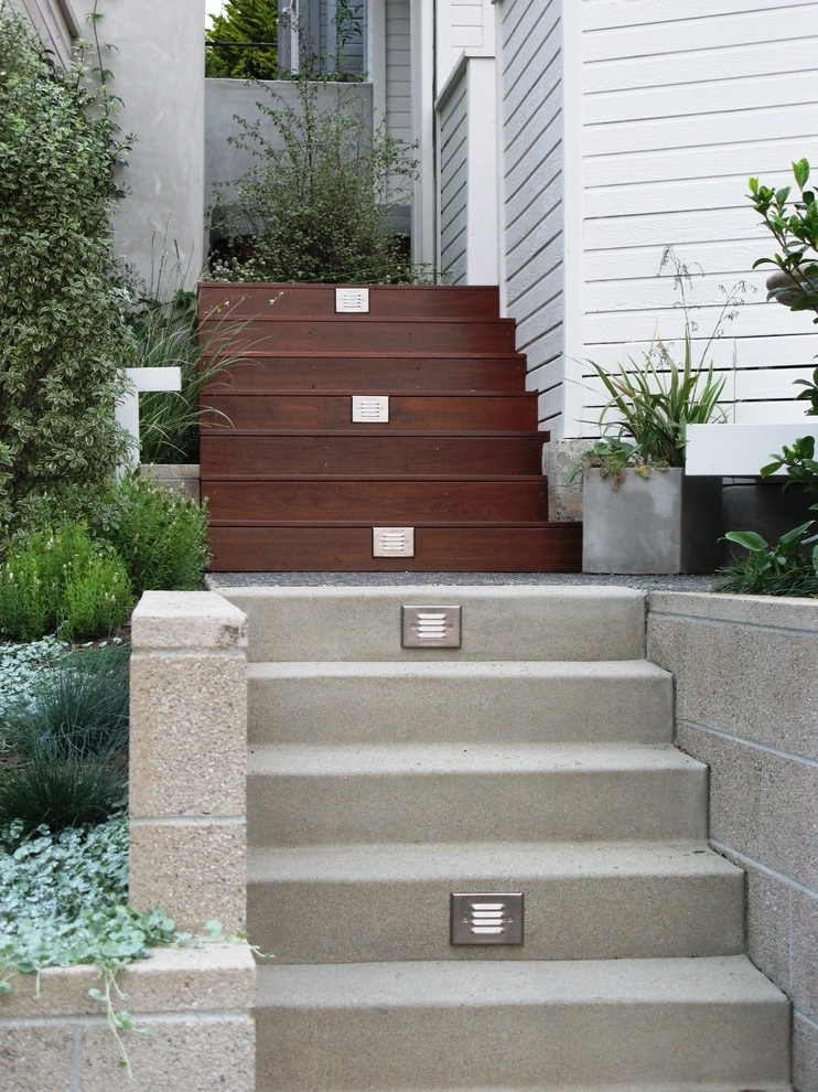 Best Outdoor Stairs Ideas For Beautiful Exterior #955 ... on Backyard Stairs Ideas id=82502