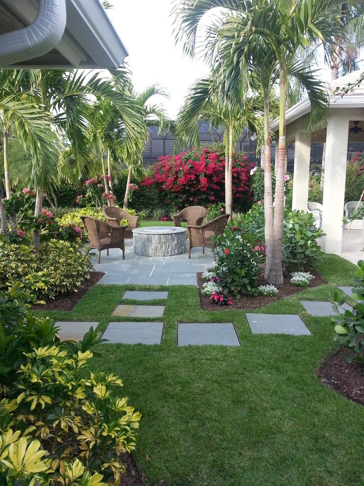Tropical Backyard Ideas For Beautiful View #507 | Garden Ideas on Tropical Backyards  id=85799