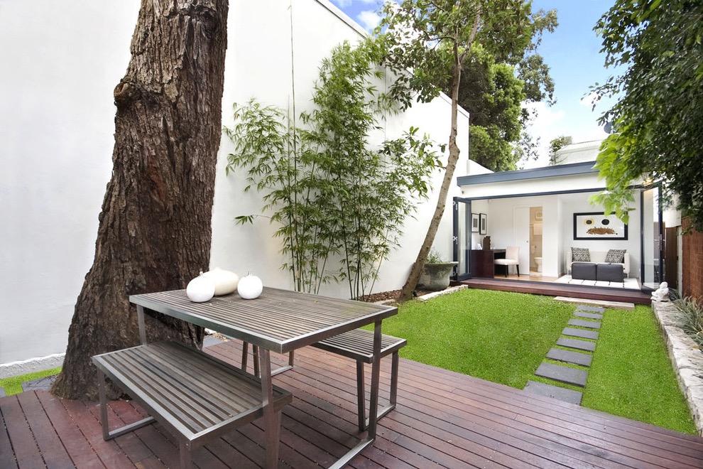 Minimalist Garden Style For Beautiful House #16311 ... on Minimalist Backyard Design id=80025