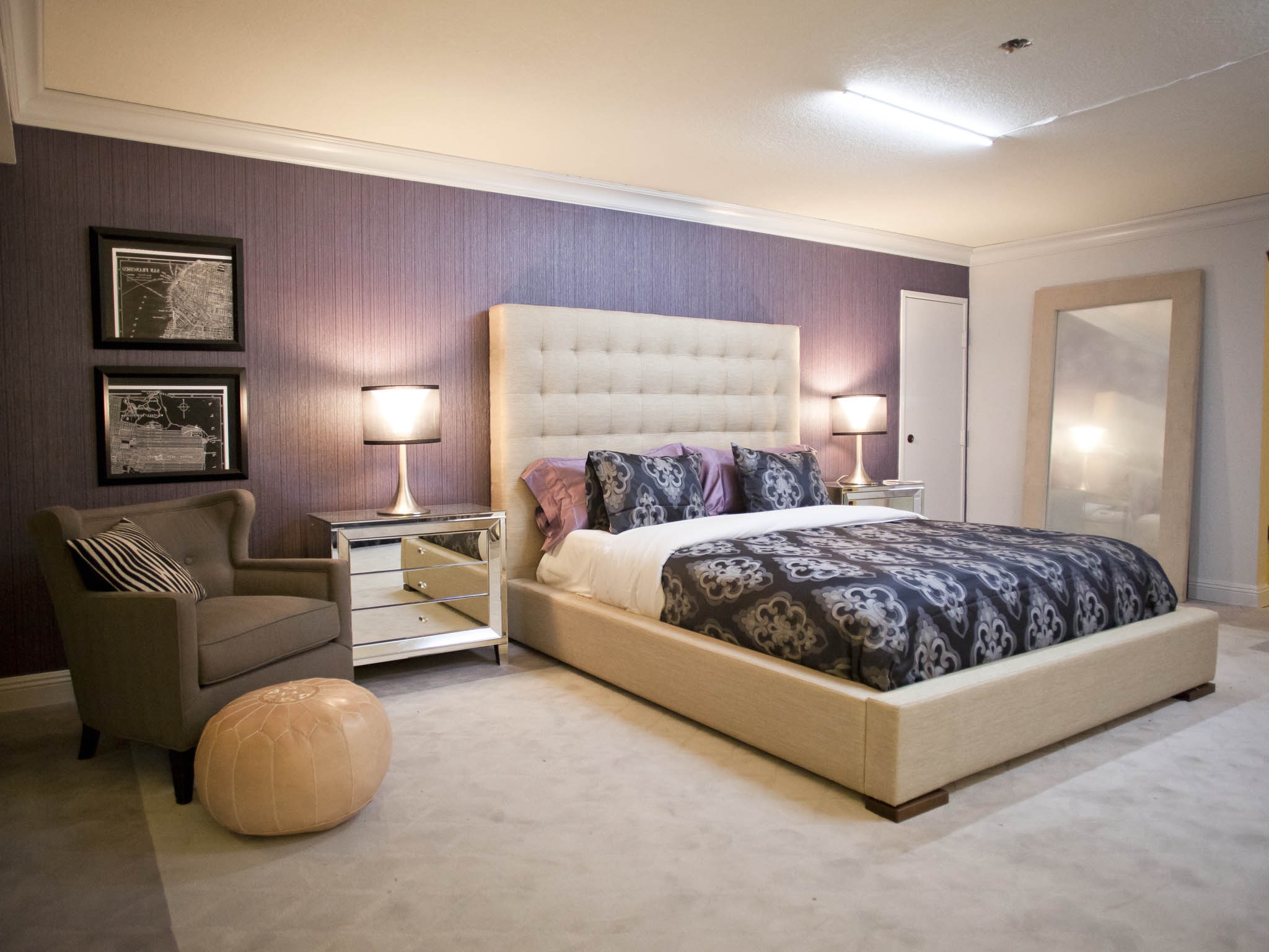 Easy Bedroom Apartment Decoration