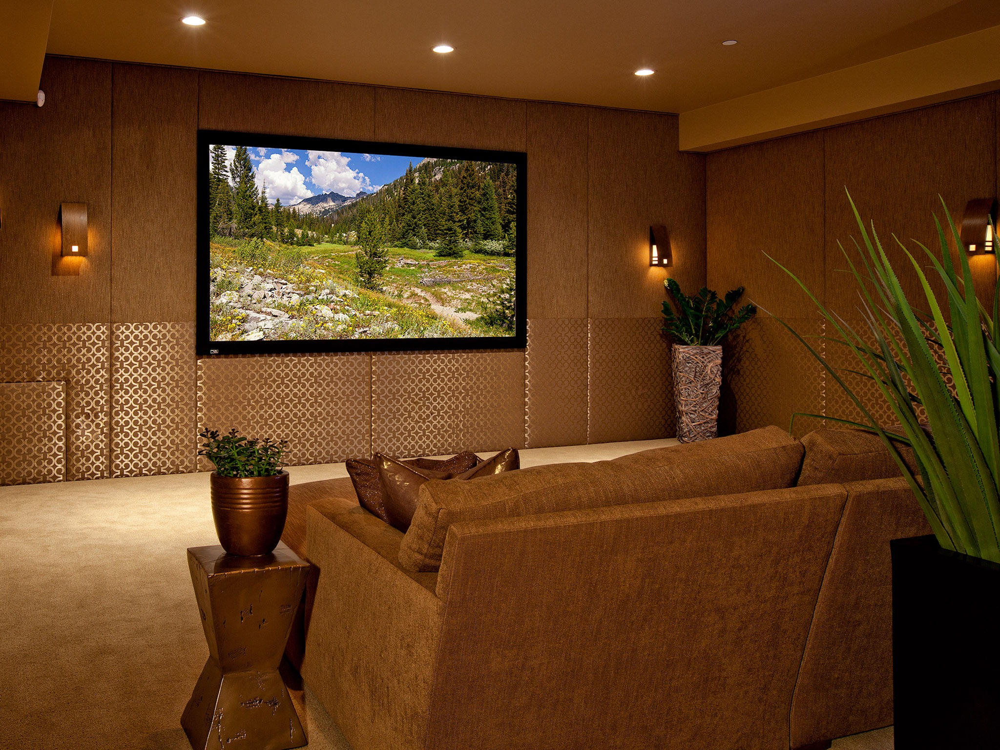 Entertainment Room Decor And Set Up For New Home 17509