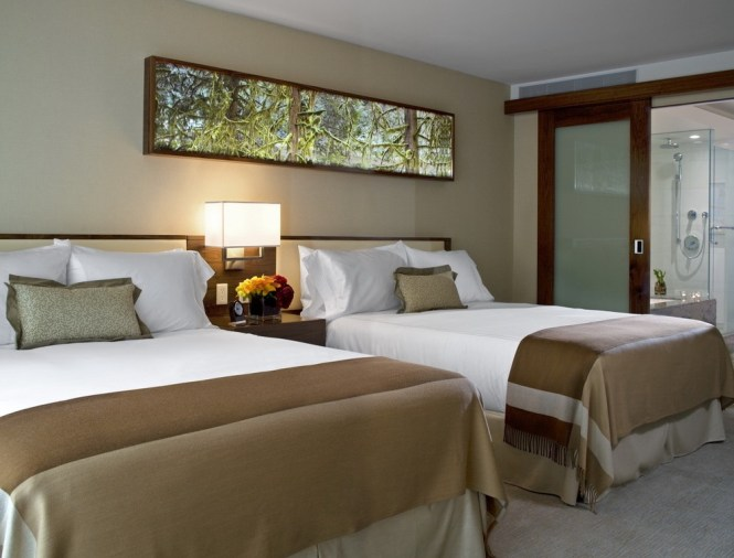 Contemporary Hotel Inspired Bedroom With Double Bed Image 4 Of 25