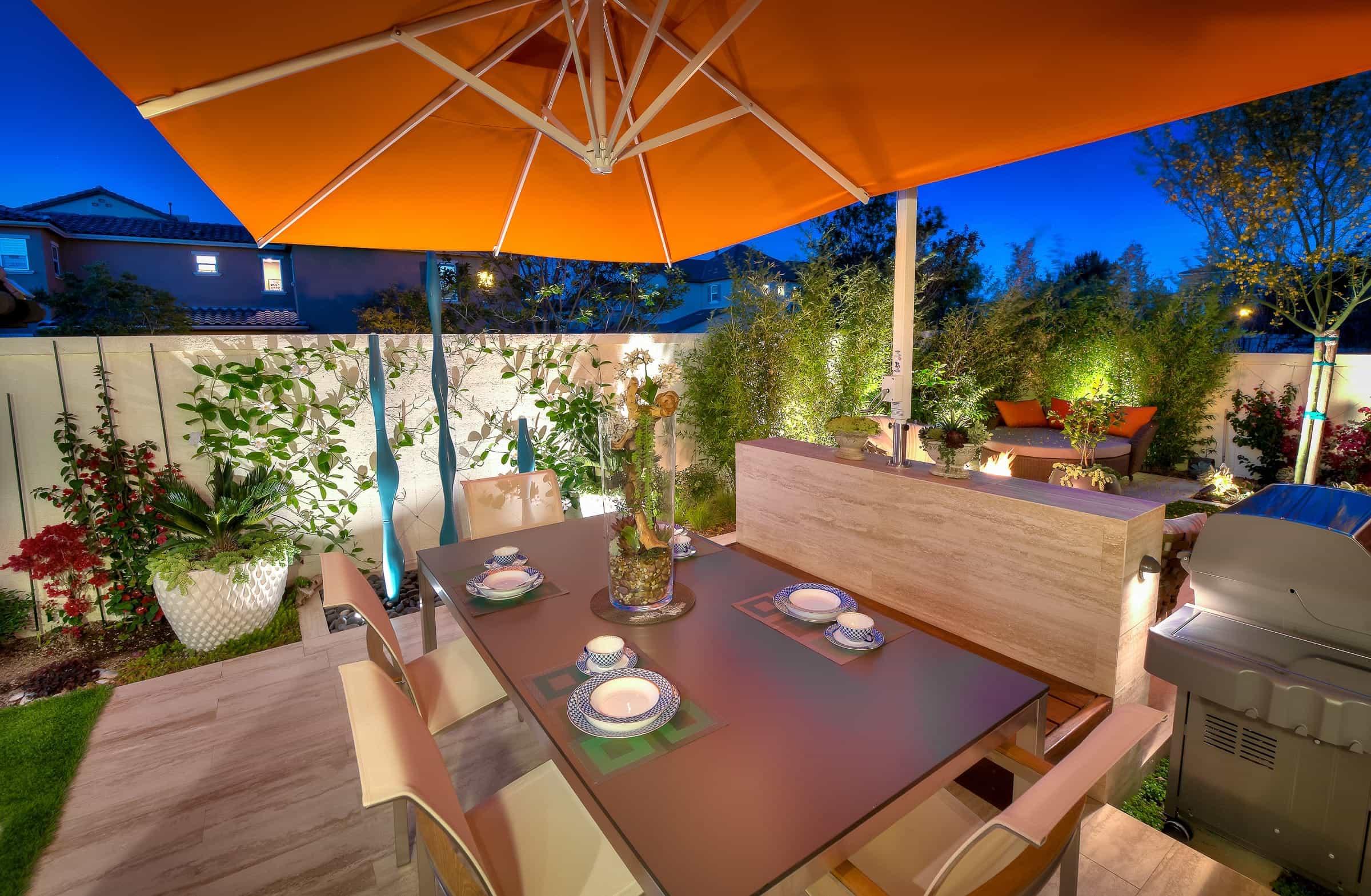 DIY Romantic Outdoor Dinner Ideas At Home #26158 | Garden ... on Romantic Backyard Ideas id=62129