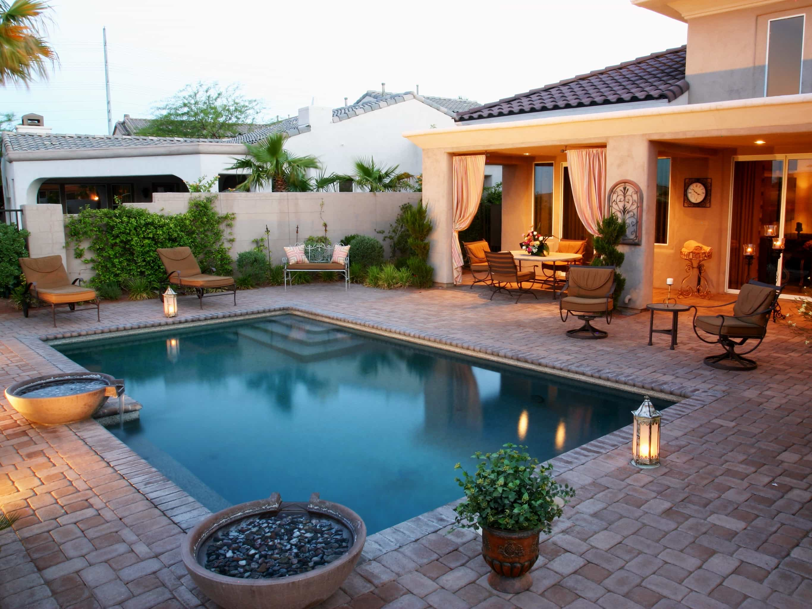 Swimming Pool Designs And Plans #23479   Garden Ideas on Pool Patio Design id=36426