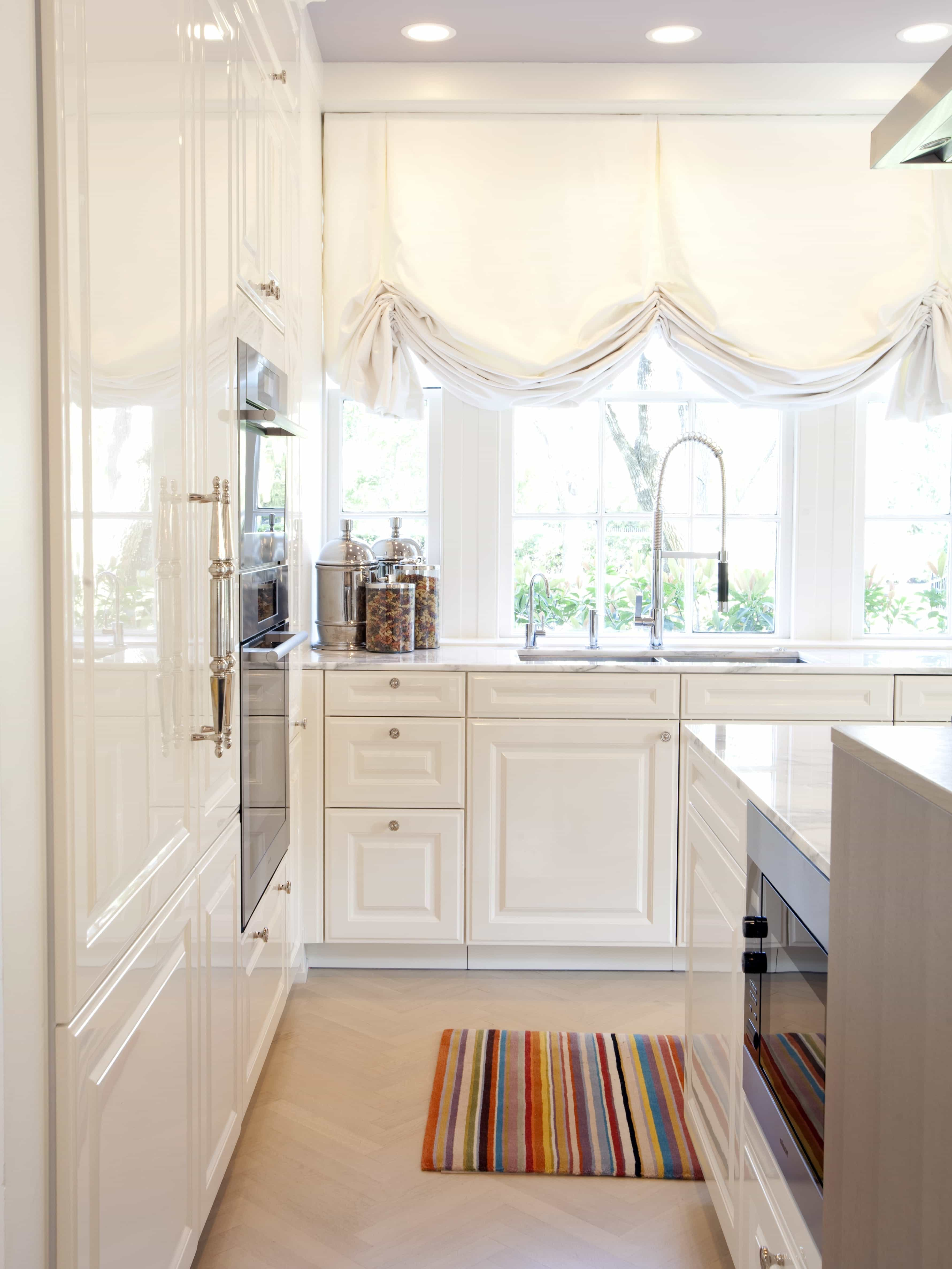 Impressive Diy Kitchen Window Curtains