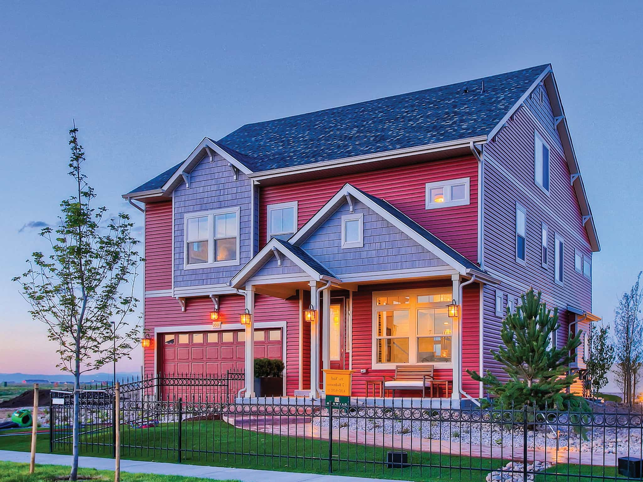 Cape Cod House Exterior With Red Siding 48346 House