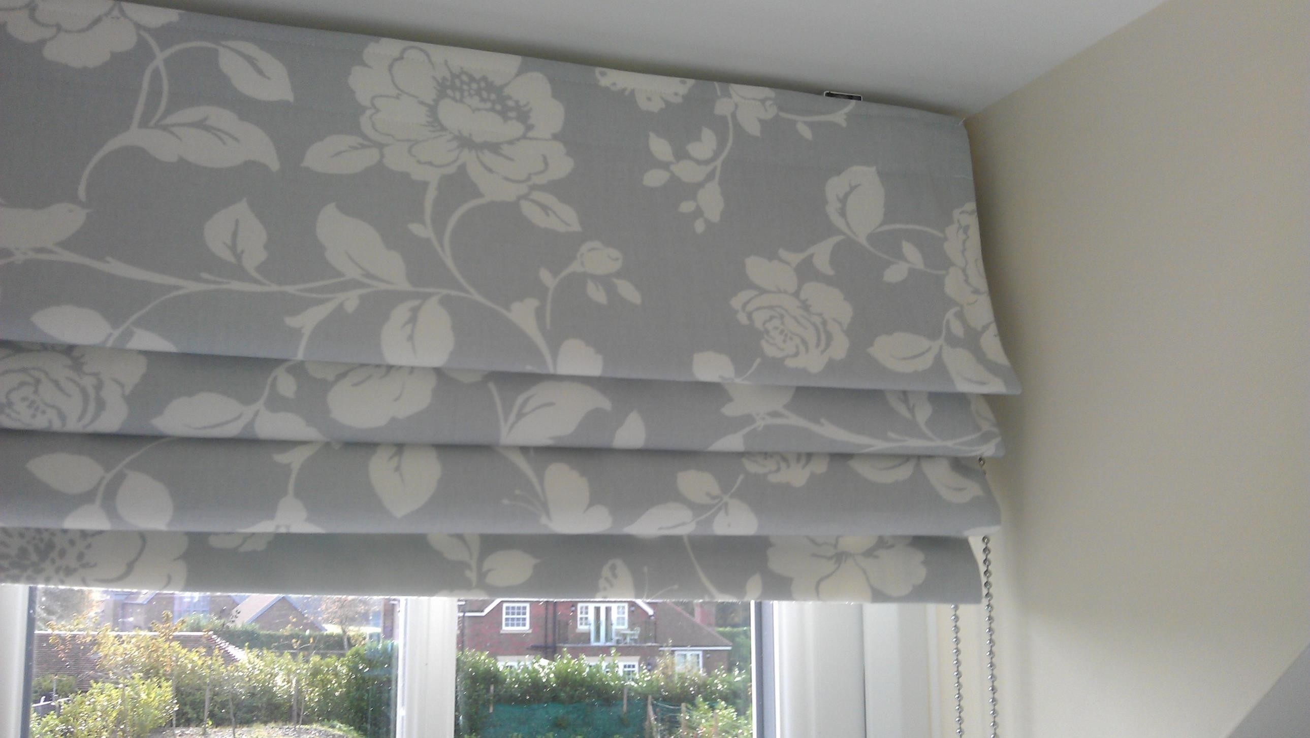 Curtain Matching Curtains And Roman Blinds 15 Of 15 Photos