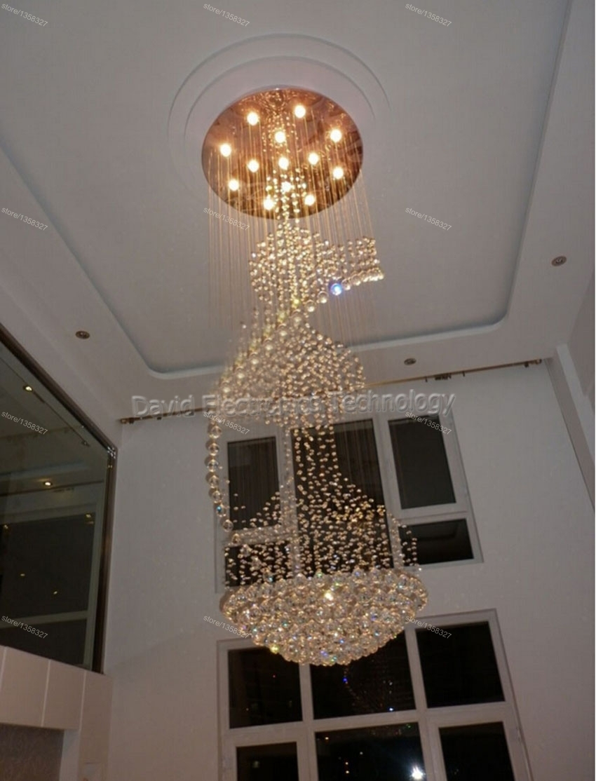 15 Photos Long Hanging Chandeliers Chandelier Ideas