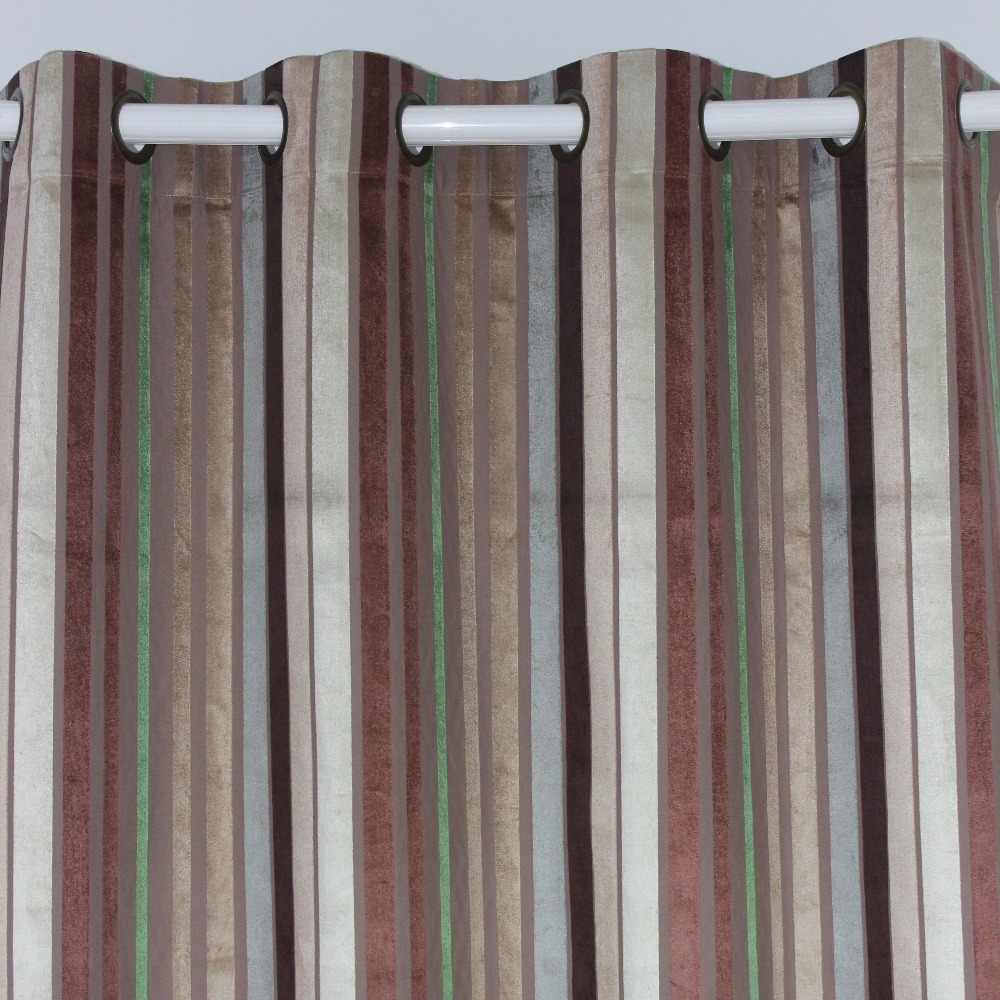 15 Collection Of Multi Coloured Striped Curtains Curtain Ideas