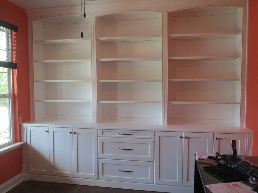 15+ Bookcase With Bottom Cabinets