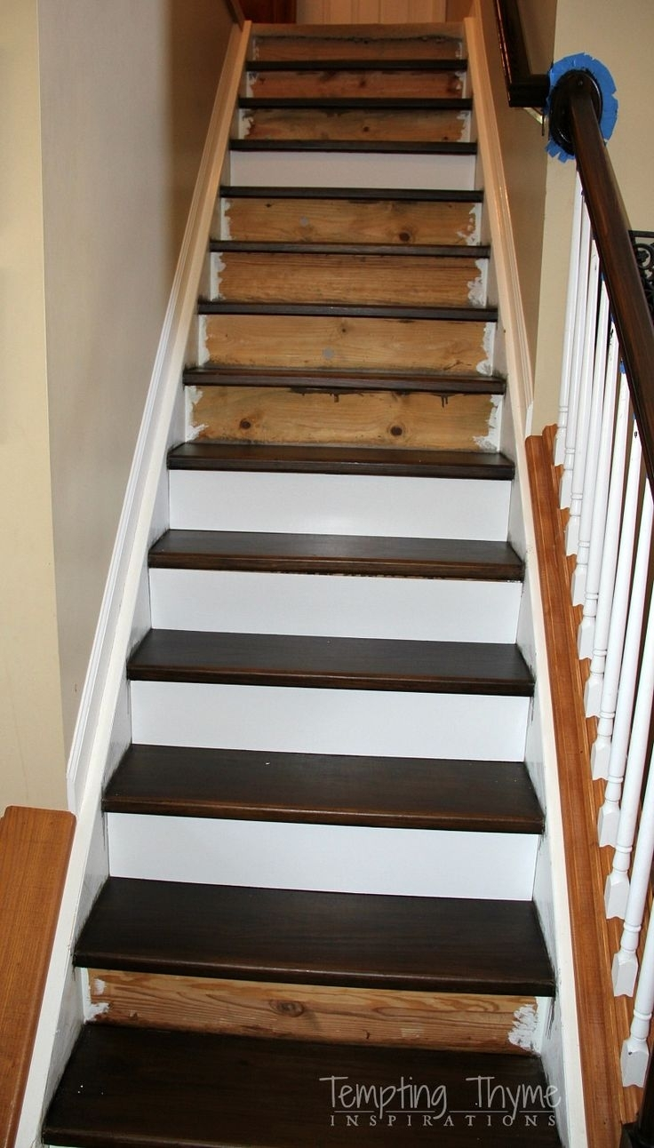 15 Best Collection Of Decorative Stair Treads Stair   Wood Stair Treads And Risers