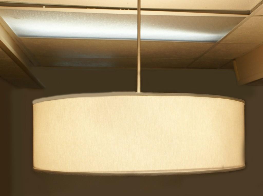 Oversized Drum Pendant Lights Pendant Lights Ideas