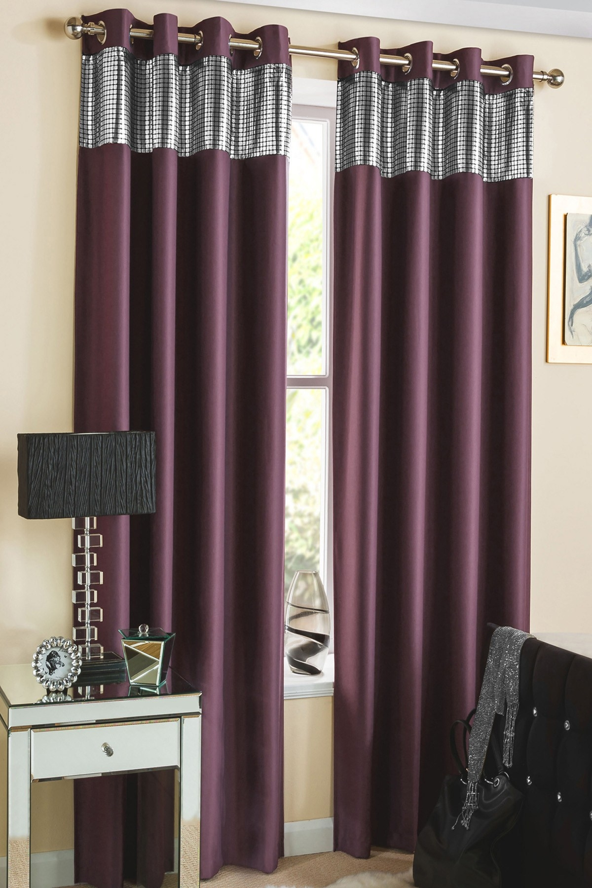 25 Purple And Gold Curtains Curtain Ideas