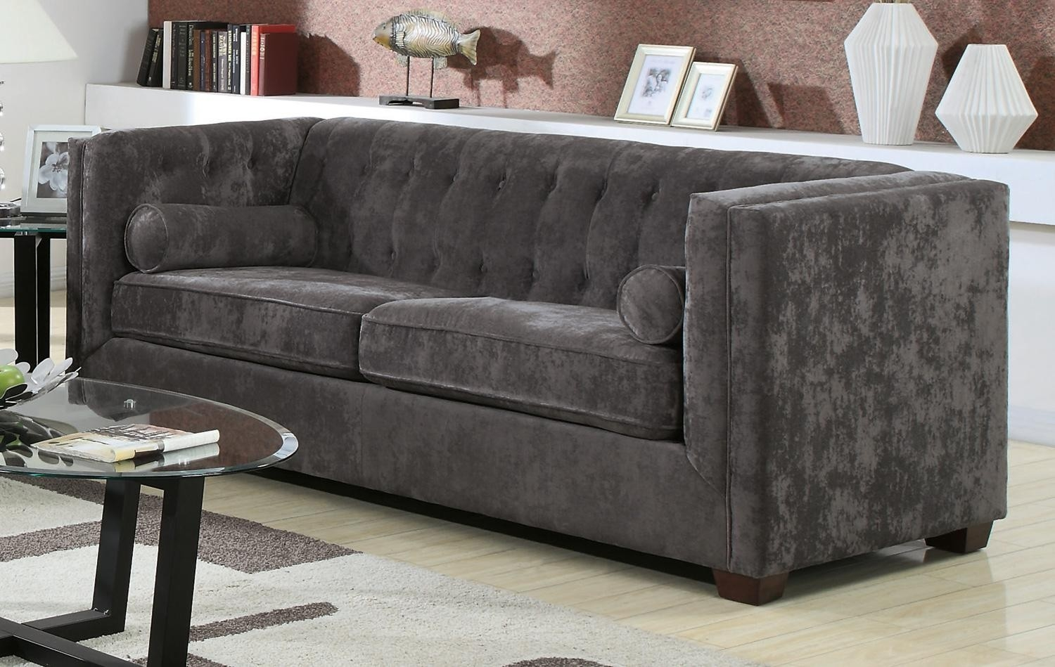Charcoal Grey Sofa And Loveseat