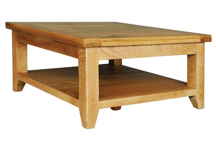 Square Oak Coffee Tables