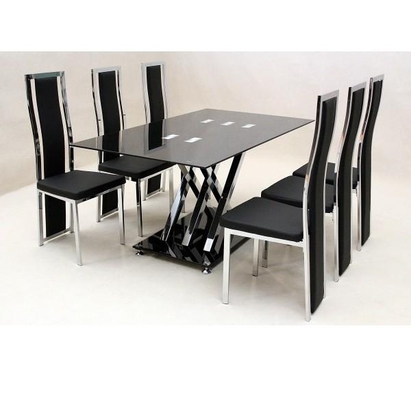 cheap dining table and chairs 20 Inspirations Cheap 6 Seater Dining Tables and Chairs