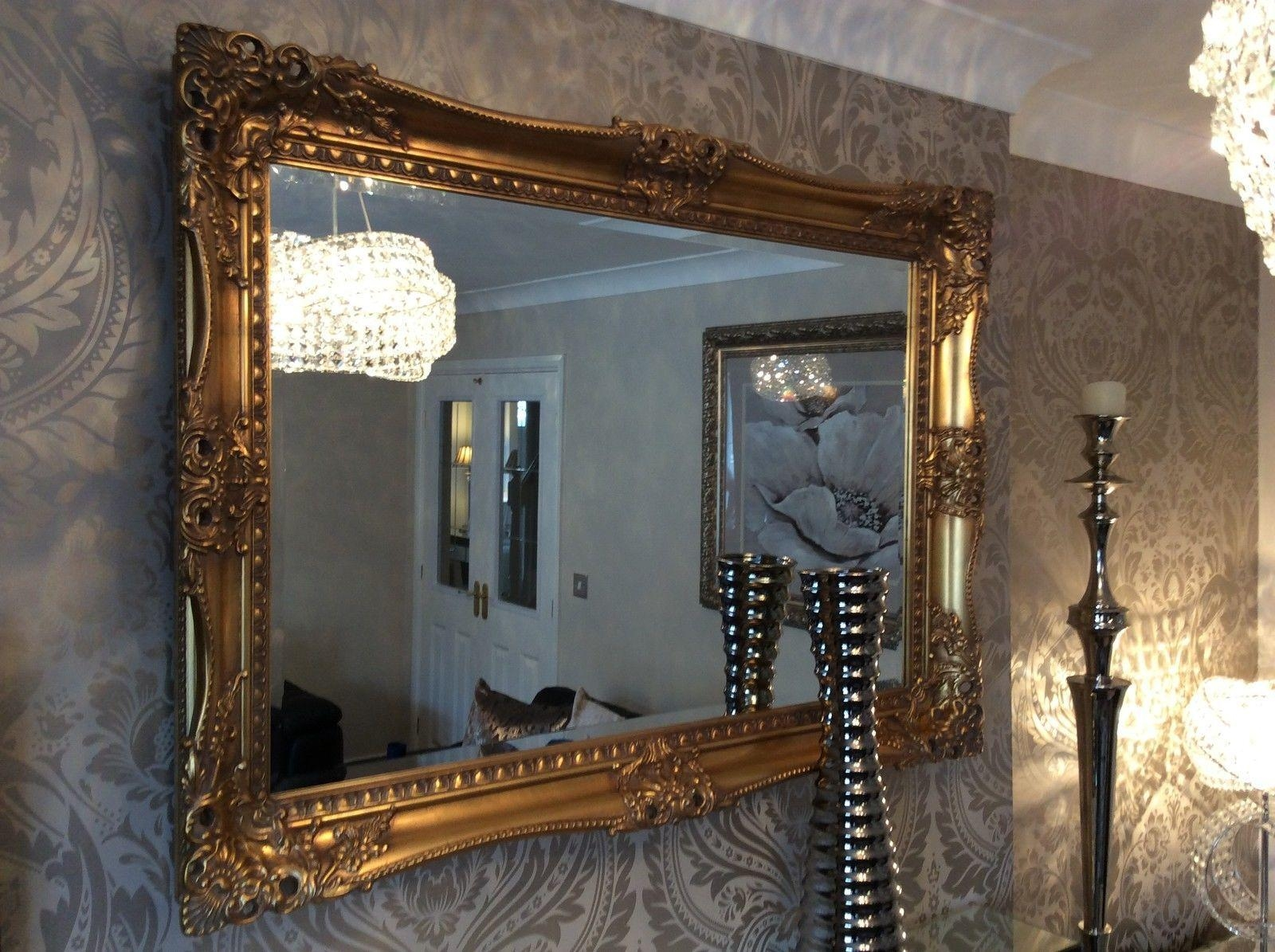 20 Ideas Of Gold Ornate Mirrors