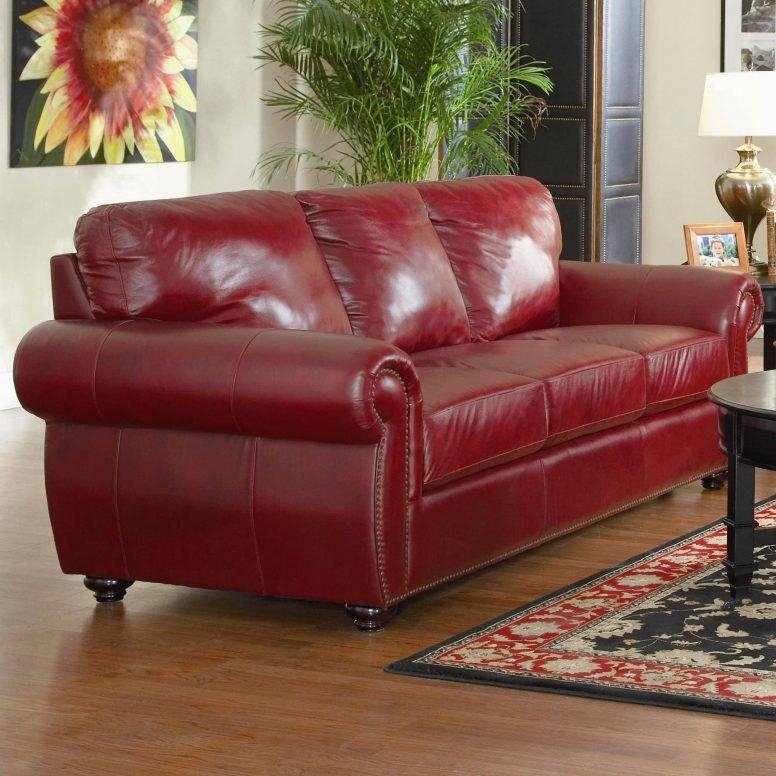 It's soft but structured, sleek but textured, and inviting but not overly indulgent. 20 Best Dark Red Leather Sofas | Sofa Ideas