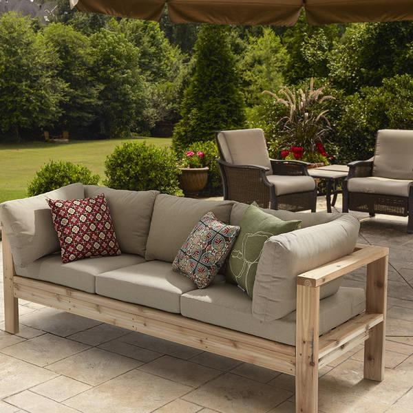 20 Collection Of Ana White Outdoor Sofas Sofa Ideas