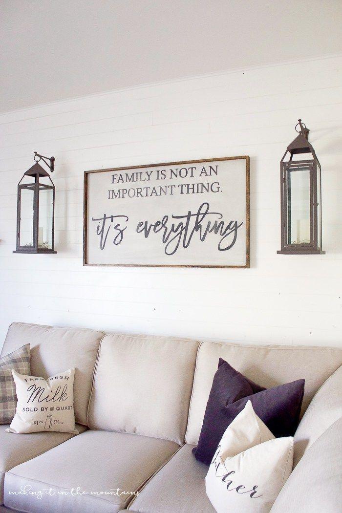 20 Inspirations Wall Art Decor for Family Room | Wall Art ... on Pinterest Wall Decor  id=70636