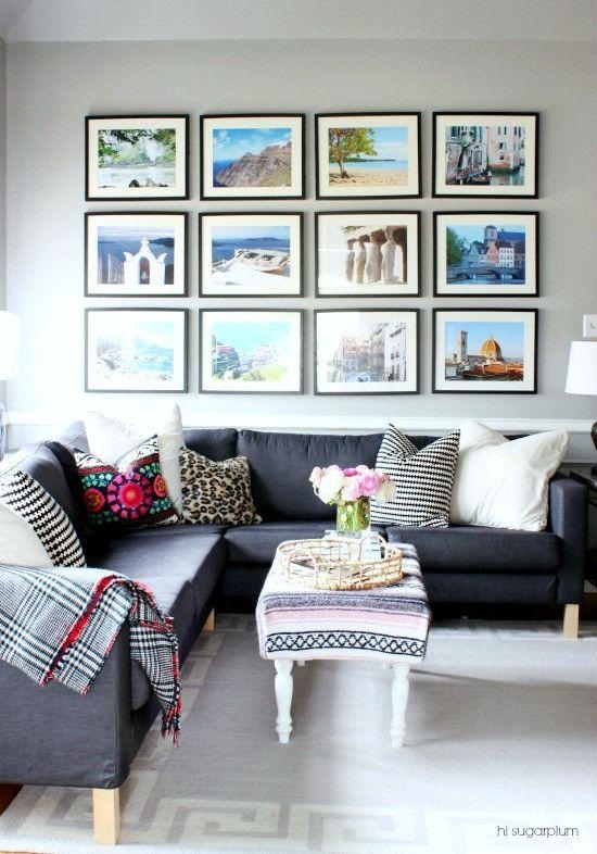 20 Inspirations Wall Art Decor for Family Room | Wall Art ... on Photo Room Decor  id=67769