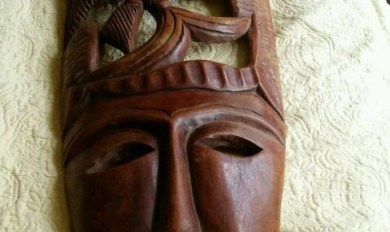 Wooden Masks Wall Art Wooden Thing
