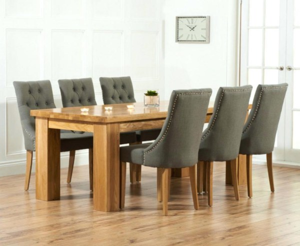 20+ Dining Tables and Fabric Chairs | Dining Room Ideas