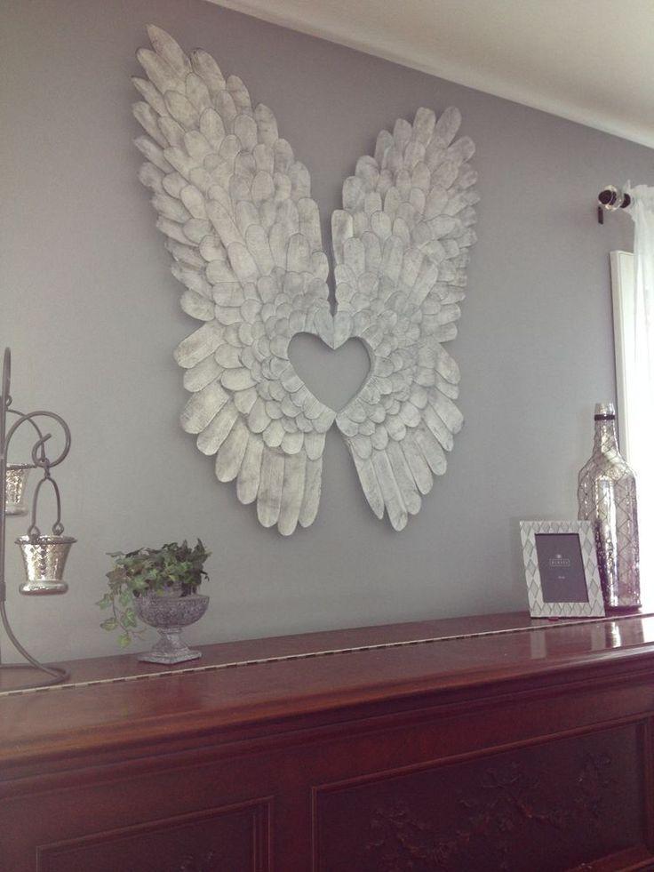 20 Inspirations Angel Wing Wall Art | Wall Art Ideas on Pinterest Wall Decor  id=81244