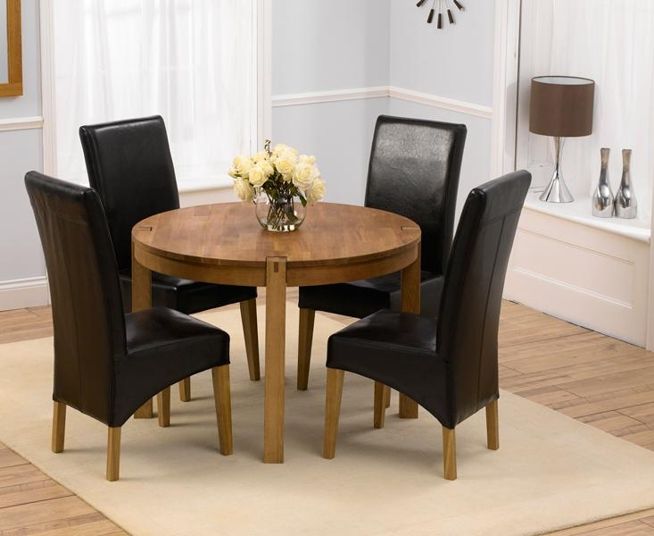 20 Photos Oak Round Dining Tables And Chairs