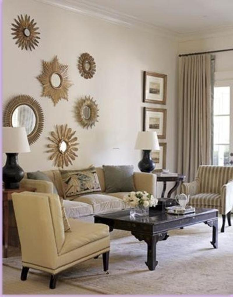 Cafe au lait family room 03:02 the family room's cafe au lait and gray to. 20 Best Ideas Large Mirrors for Living Room Wall | Mirror ...
