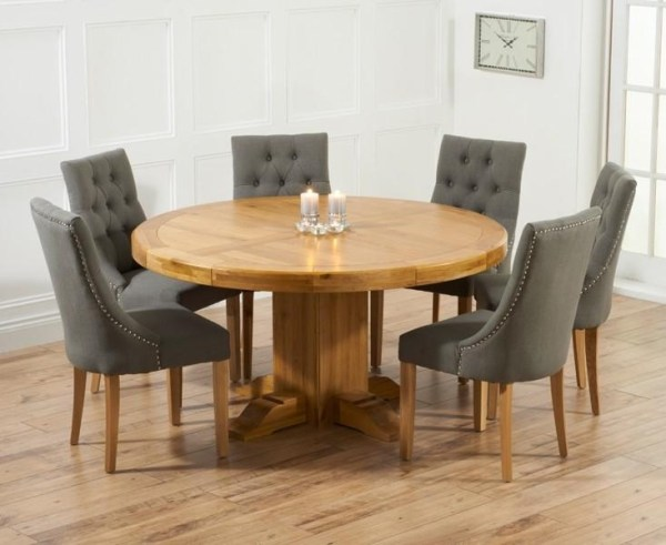 20 Photos Oak Dining Tables With 6 Chairs | Dining Room Ideas