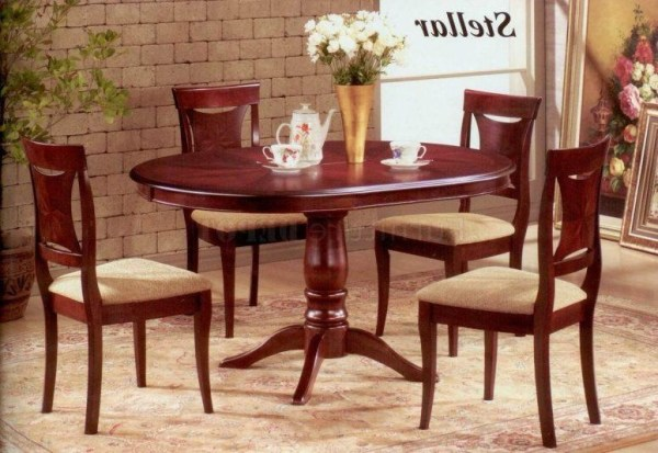 Top 20 Mahogany Dining Tables and 4 Chairs | Dining Room Ideas
