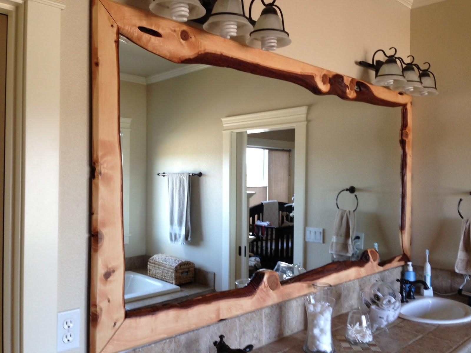 20 Ideas Of Decorative Wooden Mirrors