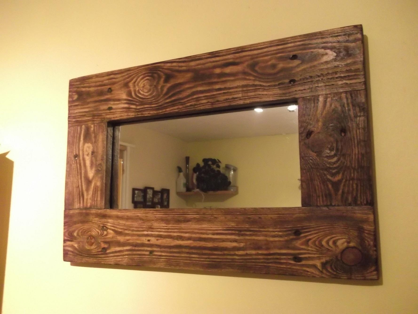 20 Inspirations Natural Wood Framed Mirrors