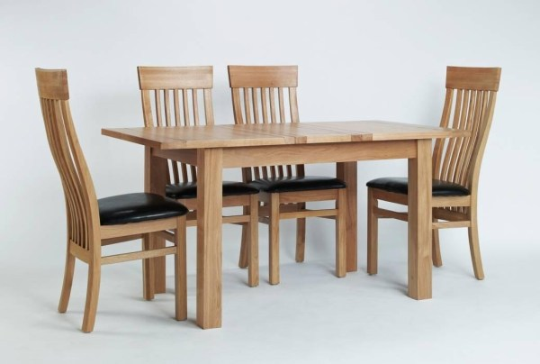 20 Best Collection of Small Extending Dining Tables and 4 ...
